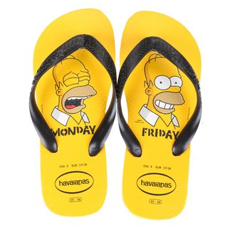 Chinelo Havaianas Estampado Os Simpsons