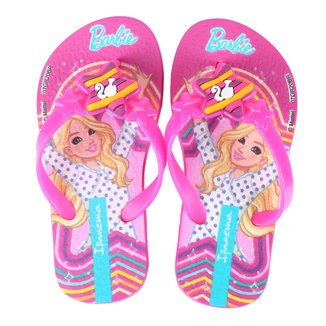 Chinelo Infantil Grendene Kids Ipanema Barbie Style Feminino