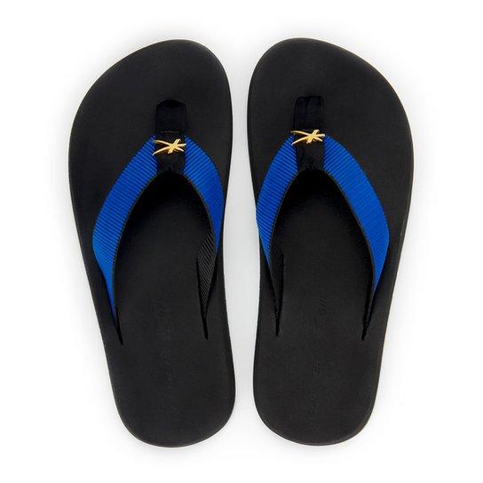 Chinelo Kenner One Black Masculino - Preto+Azul