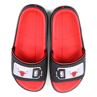 Chinelo Rider NBA Block Slide Ad Chicago Bulls Masculino