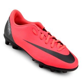 Chuteira Campo Infantil Nike Mercurial Vapor 12 Club CR7