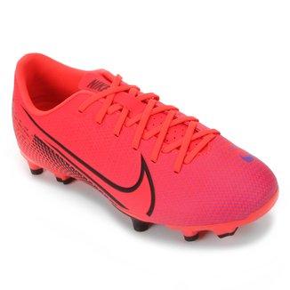 Chuteira Campo Infantil Nike Mercurial Vapor 13 Academy FG