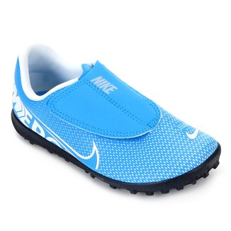 Chuteira Society Infantil Nike Mercurial Vapor 13 Club PS TF