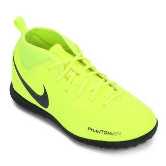 Chuteira Society Infantil Nike Phantom Vision Club TF