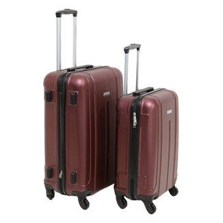 Conjunto de Malas de Viagem Yins Brasil ABS 2 unidades