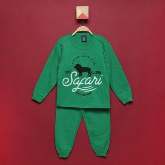 Conjunto Infantil Mia Kids Safari Masculino