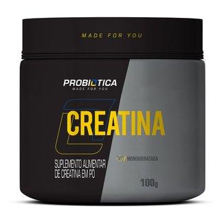 Creatina Pura Professional 100g - Probiótica