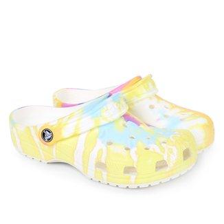 Crocs Infantil Classic Tie Dye Graphic Clog K