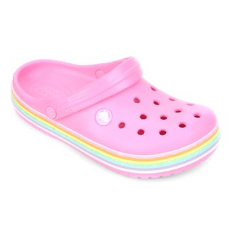 Crocs Infantil Crocband Rainbow Glitter Clog K