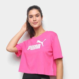 Cropped Puma Essentials Logo Feminino
