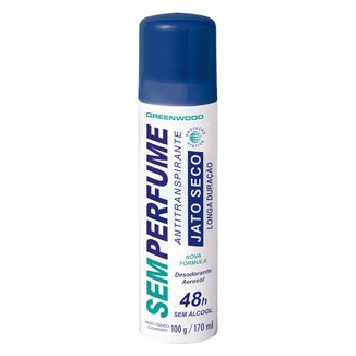 Desodorante Aerosol Fiorucci Sem Perfume Jato Seco 170ml