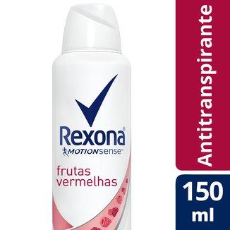 Desodorante Aerosol Rexona Frutas Vermelhas 150 ml