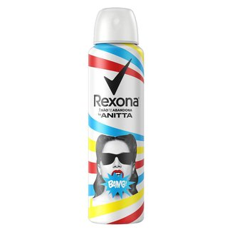 Desodorante Antitranspirante Rexona Aerossol Bang Bang by Anitta 150ml