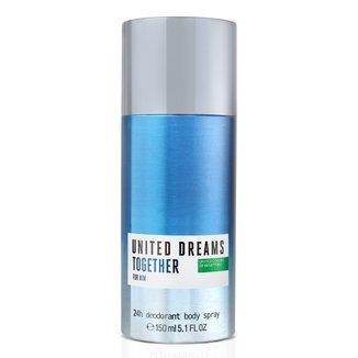 Desodorante Corporal Benetton United Dreams Together Masculino 150ml