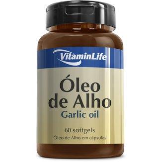 Garlic Oil 250 mg 60 Cáps - Vitaminlife