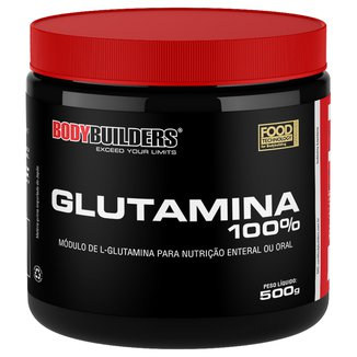 Glutamina 100% 500G - Bodybuilders