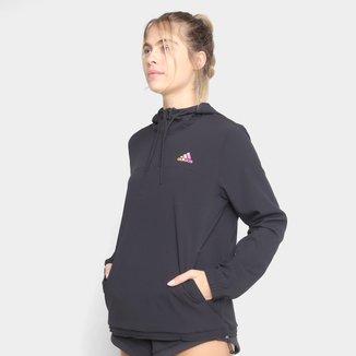 Jaqueta Corta Vento Adidas Favourites Feminina