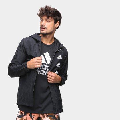 Jaqueta Corta Vento Adidas Favourites Masculina