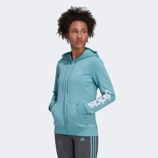 Jaqueta Moletom Adidas Essential Logo Feminina