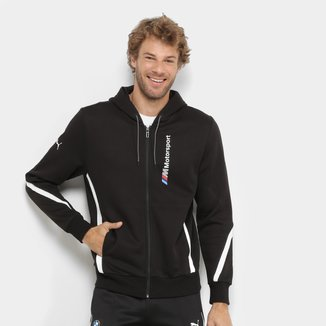 Jaqueta Moletom Puma BMW Motorsport Hooded Sweat Masculina