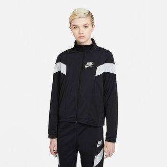 Jaqueta Nike Sportwear Heritage Pk Feminina