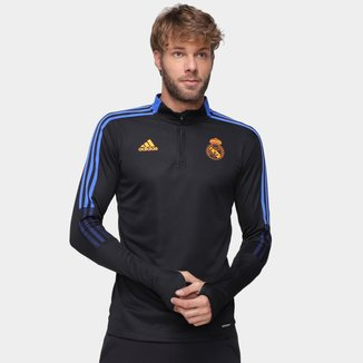 Jaqueta Real Madrid Treino 21/22 Adidas Masculina