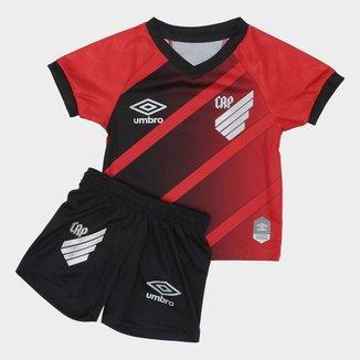 Kit Athletico Paranaense Infantil I 20/21 s/n° Torcedor Umbro