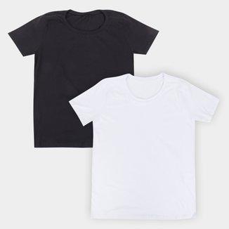 Kit Camiseta Volare Básica Feminina 2 Peças
