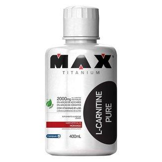 L-Carnitine Pure 2000 400ml - Max Titanium
