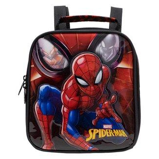 Lancheira Infantil Xeryus Spider Man Masculina