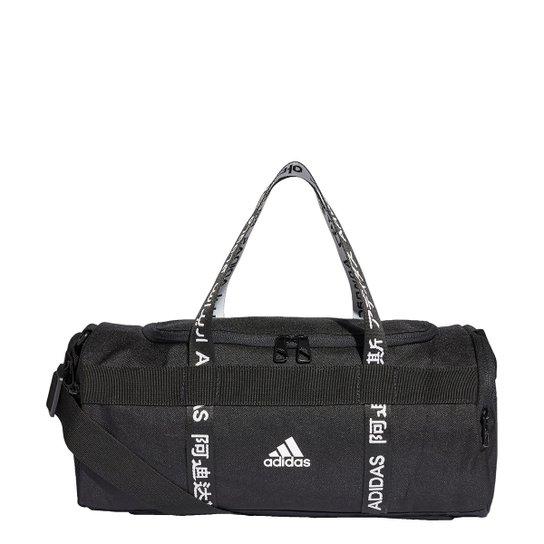 Mala Adidas Duffel 4Athlts Pp - Preto+Branco