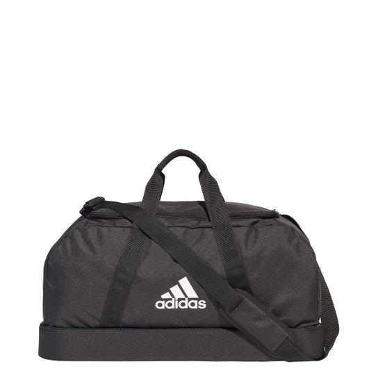 Mala Adidas Tiro Duffel Compartimento Médio - Preto+Branco