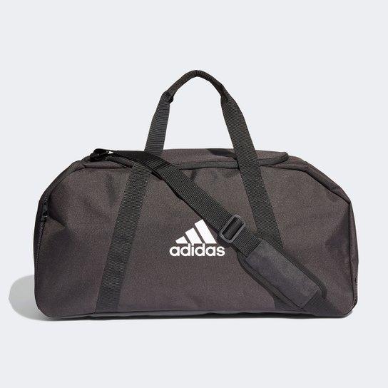 Mala Adidas Tiro Duffel Média - Branco+Preto