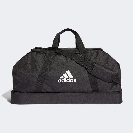 Mala Adidas Tiro Duffel - Preto+Branco