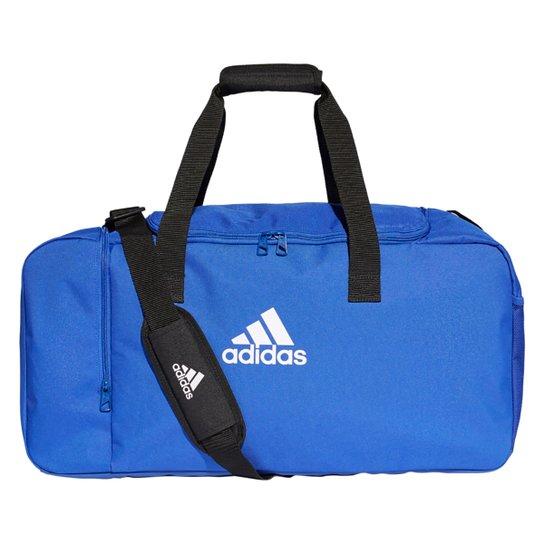 Mala Adidas Tiro Media - Azul+Branco
