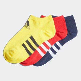 Meia Adidas Cano Curto C/ 3 Pares
