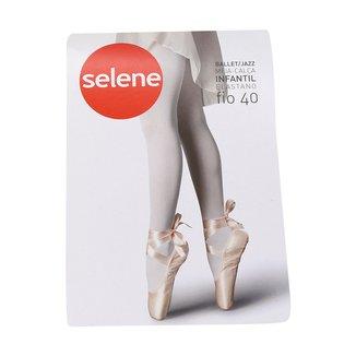 Meia Calça Infantil Selene Ballet Fio 40 Elastano