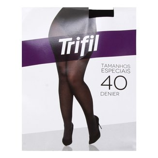 Meia Calça Trifil Plus Size Fio 40 Opaca Feminina