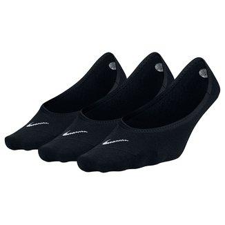 Meia Nike Lightweight Sem Cano Pacote C/ 3 Pares