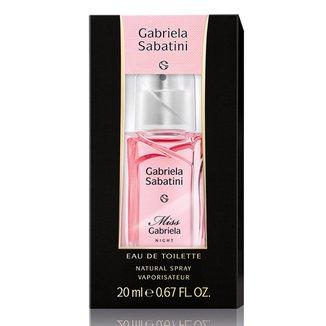 Miss Gabriela Night Gabriela Sabatini - Perfume Feminino - Eau de Toilette - 20ml