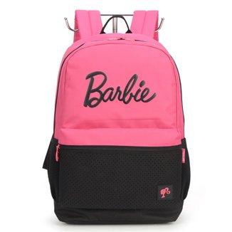 """Mochila Escolar Up4You Barbie 18"""" Feminina"""