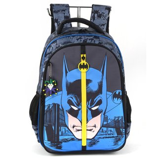 "Mochila Infantil Luxcel Batman 17"" Masculina"