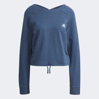 Moletom Adidas Cropped Dance Swetheart Feminino