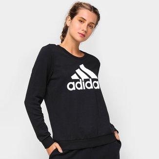 Moletom Adidas Logo Adidas Essentials Relaxed Feminino