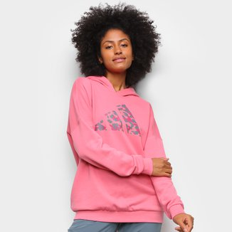 Moletom Adidas Logo Camuflado Feminino
