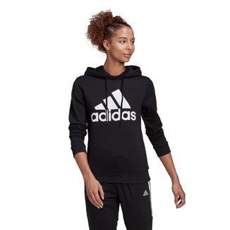Moletom Adidas Logo Capuz Feminino