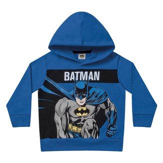 Moletom Bebê Fakini Batman Capuz Masculino
