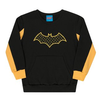 Moletom Bebê Kamylus Batman Masculino