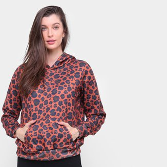 Moletom Energia Natural Animal Print Feminino