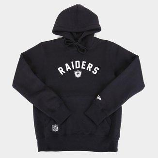 Moletom Juvenil NFL Las Vegas Raiders New Era Masculino